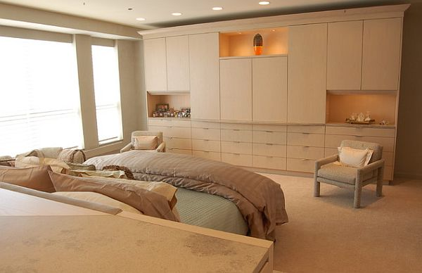 master bedroom - wardrobes idea