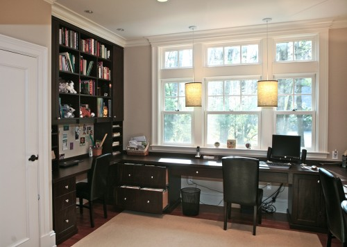 Wall cabinet home office design interior design ideas for Home office design inspiration