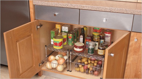 Cabinet idea for Small Kitchen
