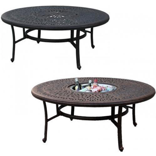 round-garden-table Garden Tea Tables Design Idea