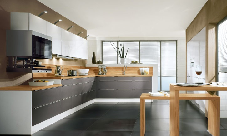 Modern-L-shaped-kitchen-design L Shaped kitchen design Ideas