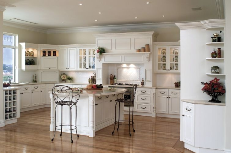 luxury-L-shaped-kitchen L Shaped kitchen design Ideas