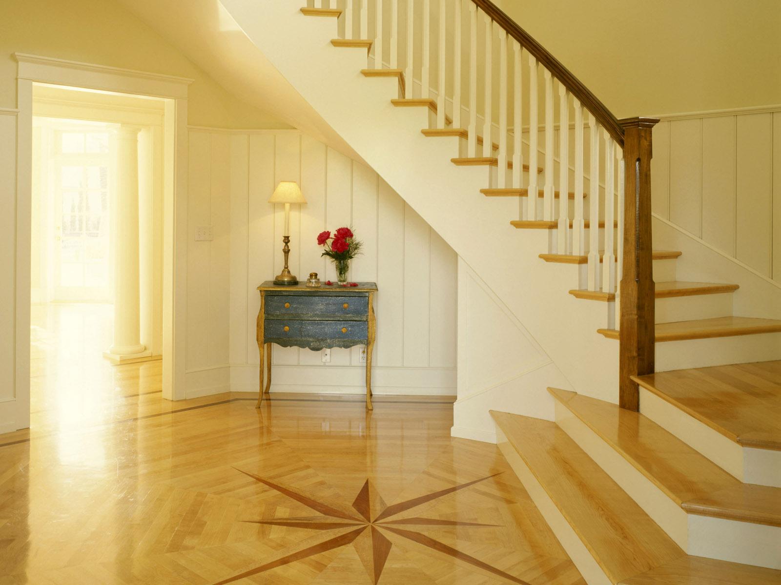 Дизайн ступеньки на второй этаж