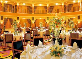 yellow scheme hotel interior