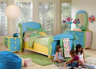 Colorful Kids Bedroom Furniture