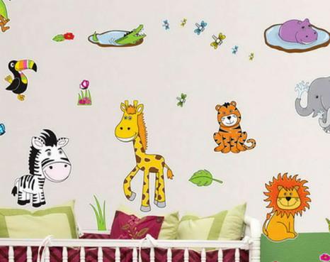 Funny-Animal-Kids-Cartoon-Wallpapers Bedroom wallpapers Inspirations