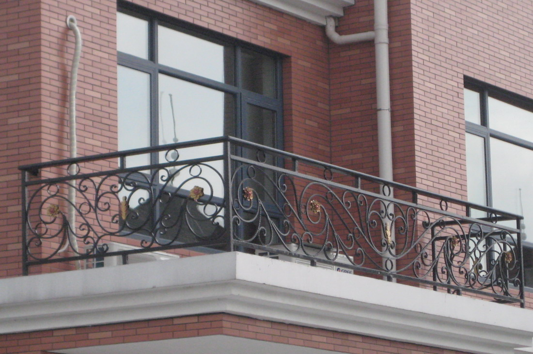 Wood And Steel Balcony Grill Design Pictures | Joy Studio Design ...