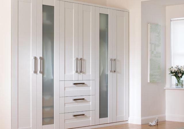 bedroom-Wardrobes Bedroom Storage Solutions and ideas
