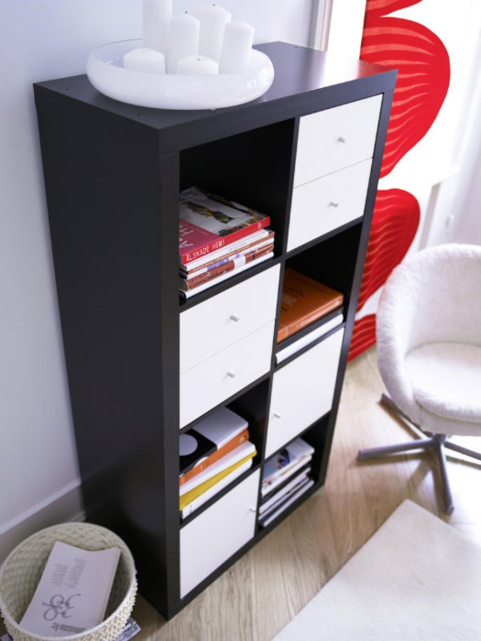 bedroom-book-storage Bedroom Storage Solutions and ideas