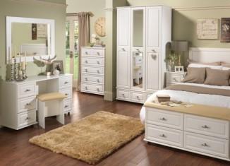 bedroom set storage idea