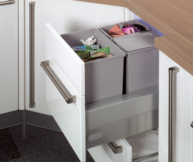 modern kitchen garbage disposal cabinet