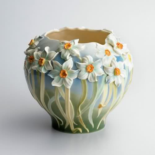 stylish flower vase