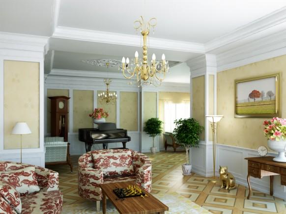 Classic-Interiors-design-idea Classic Interiors design idea