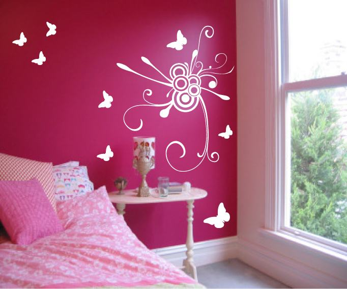 Wall-Decals-For-Girl-Bedroom