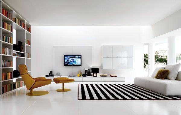 Wonderful-white-Living-Room-idea Wonderful white Living-Room idea