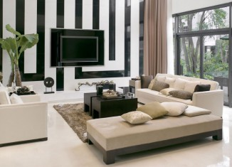 Clean living- room design ideas