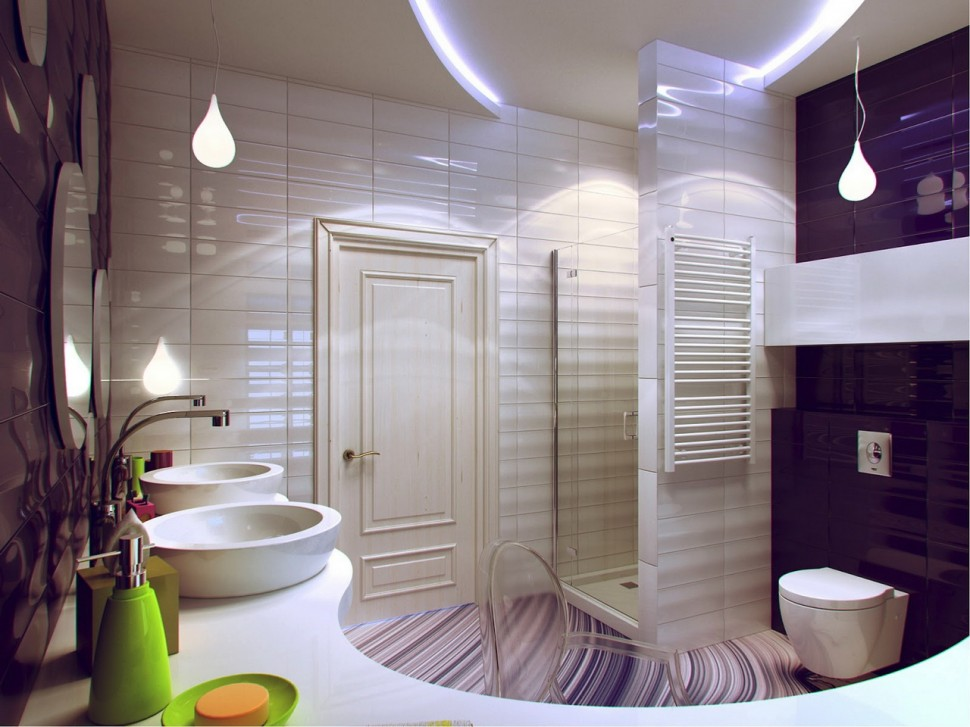 luxurious-modern-bathroom-design Luxurious modern bathroom design