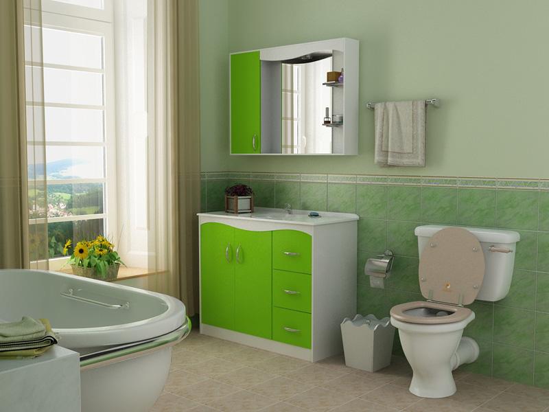 simple toilet Bathroom idea