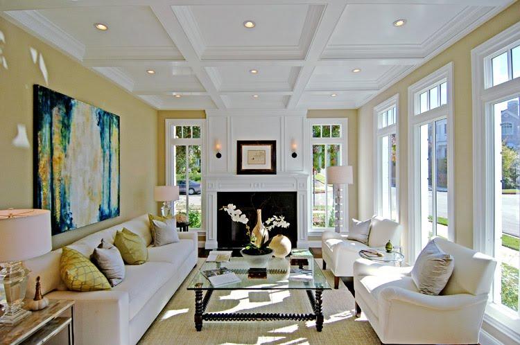 white-living-room White living room idea