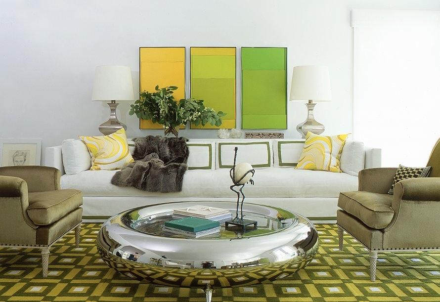 white-green-yellow-stylish-living-room-design white green lime color living room