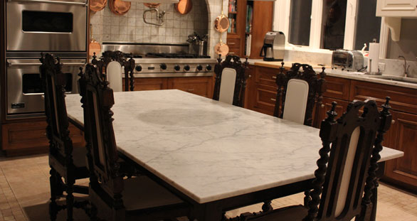Marble-Dining-Table-4 Reasons to Use a Marble Dining Table