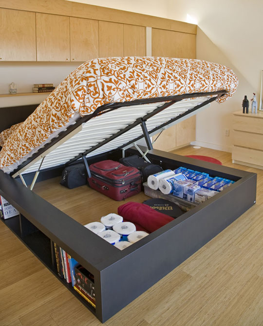 underbed storage bed