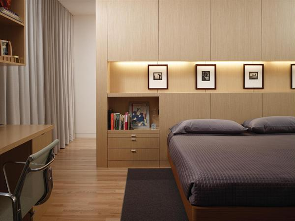 Condominium Master Bedroom Interior Design