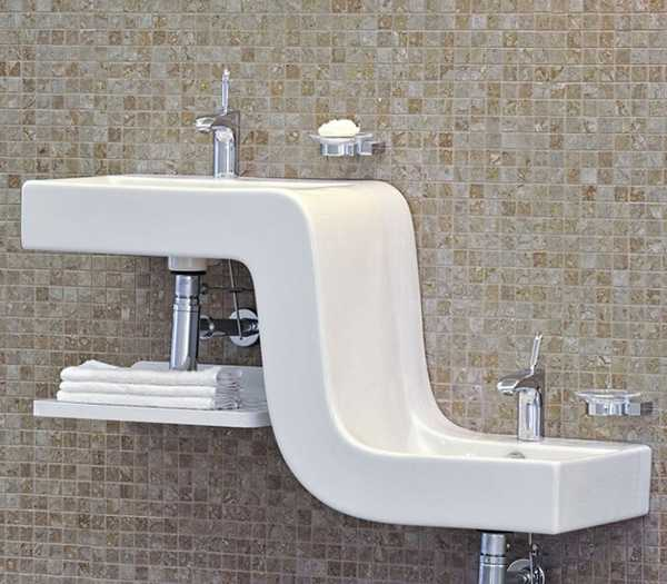 bathroom-sinks-two-level-family-basin-vitra-1 Buyers guide on how to plan a family bathroom