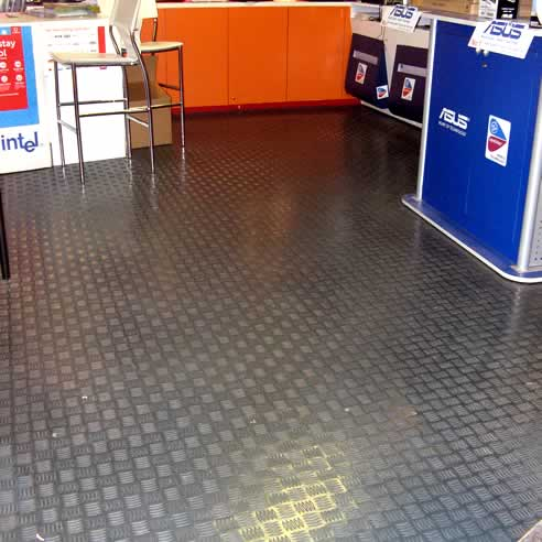 rubber-flooring-tiles Rubber Flooring- Why to go for