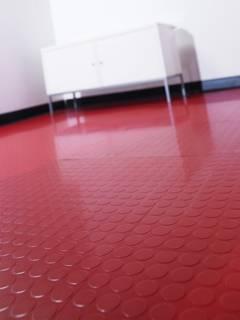 Plain Rubber Bathroom Flooring
