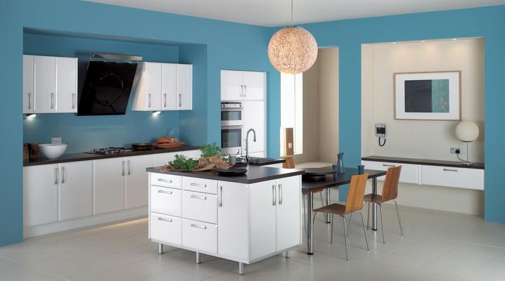 Modern-Blue-Kitchen-Theme-Interior-Decoration-Ideas