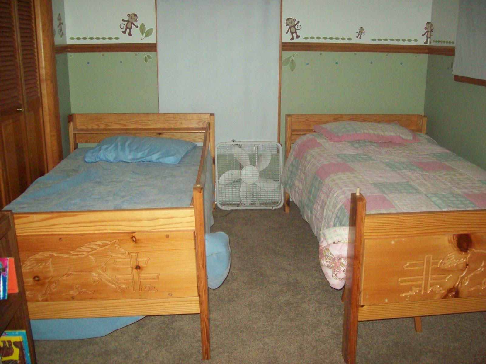 Split the bedroom