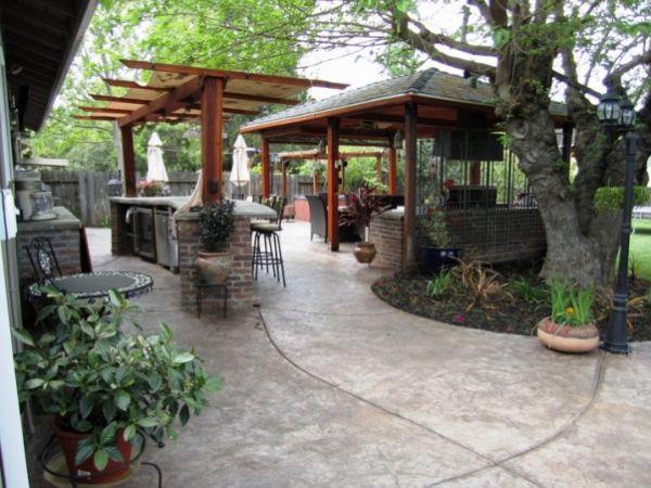 Wooden-Contemporary-patio-design-plans-ideas