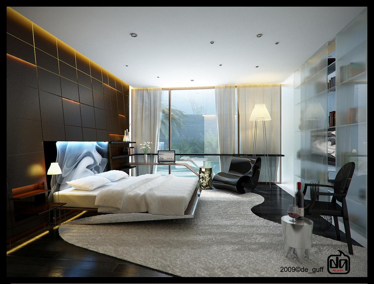 bedroom-accent-lighting-fancy-area-rug