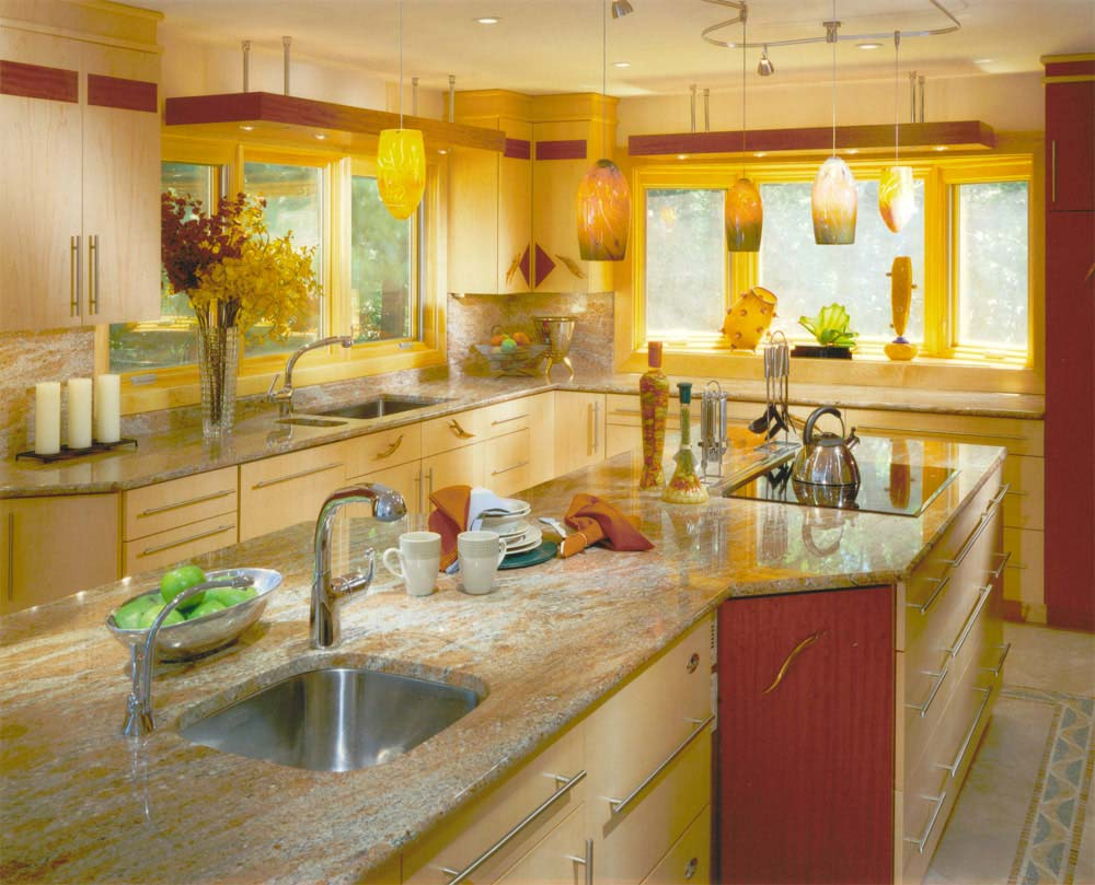 yellow-kitchen-arrangement