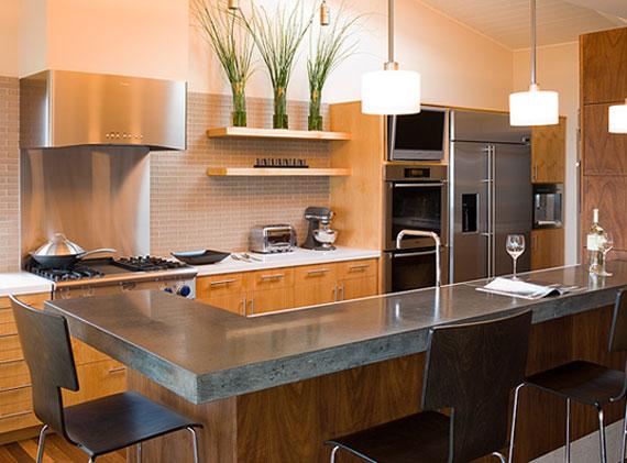 modular-elegant-kitchen-open-shelf Open Kitchen- the new trend catching in India