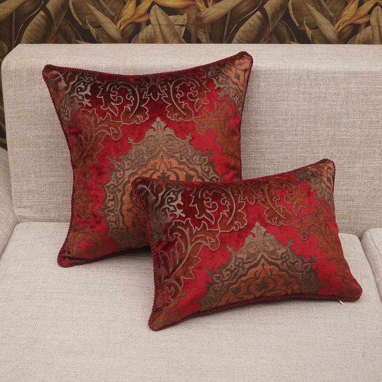 How to add colour to your home Interior design ideas : Cheap Sofa cushions Covers Designer Cushion Covers Red Chair Cushion Covers Seat Cushion Covers 45x45cm Free from www.interiorhousedesign.net size 750 x 750 jpeg 270kB