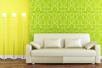 bold_color_and_fabric_wallpaper