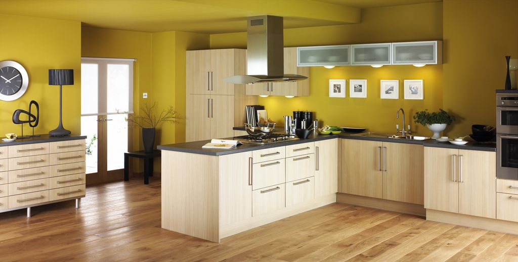 kitchen-idea-combination-with-yellow-wall-color