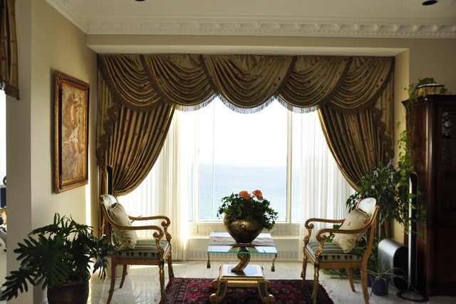 traditional-living-room Which curtain is the best for your home?