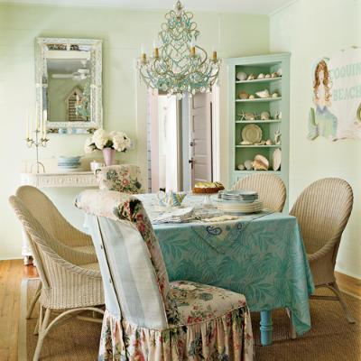 shabbychic-diningroom-l1 How to create shabby chic home?