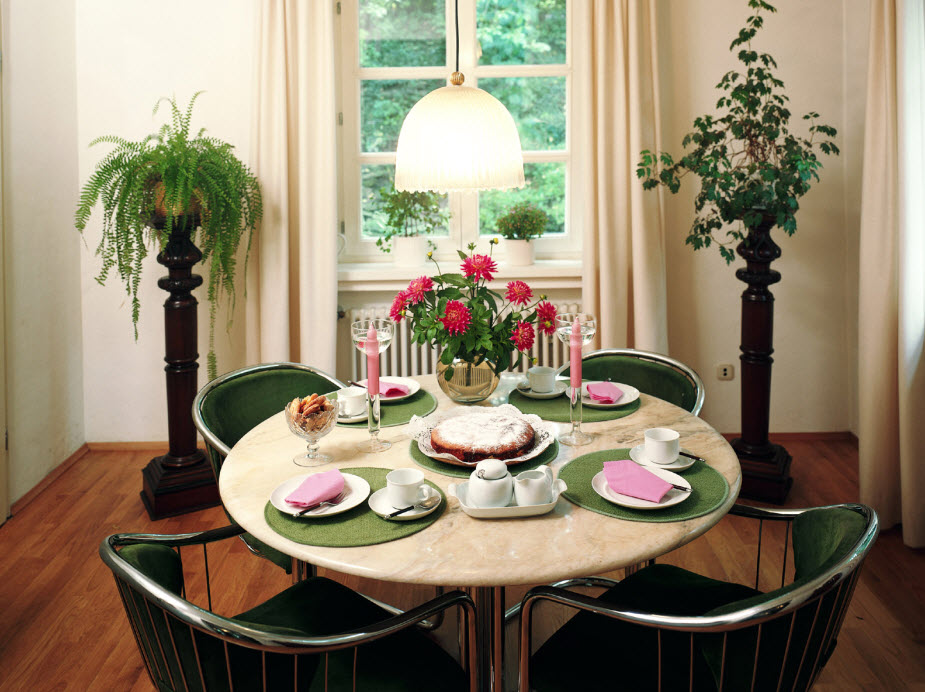 Dining Table Decor Simple Room