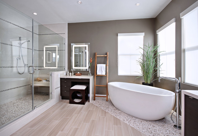 contemporary-bathroom How to accentuate your home differently?