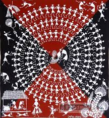 warli2 How to decor home with Warli painting?