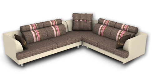 L-Shaped-Sofa-Set How to change interiors of the home depending upon the season?