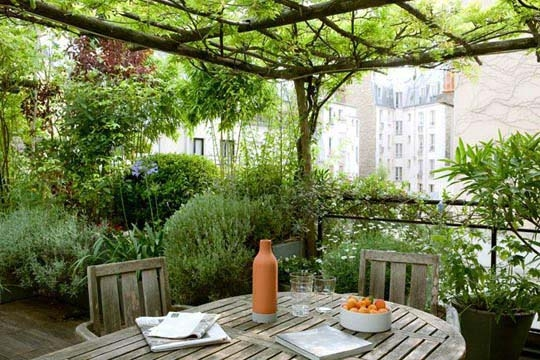 How to add terrace garden in home interior design ideas for Terrace images