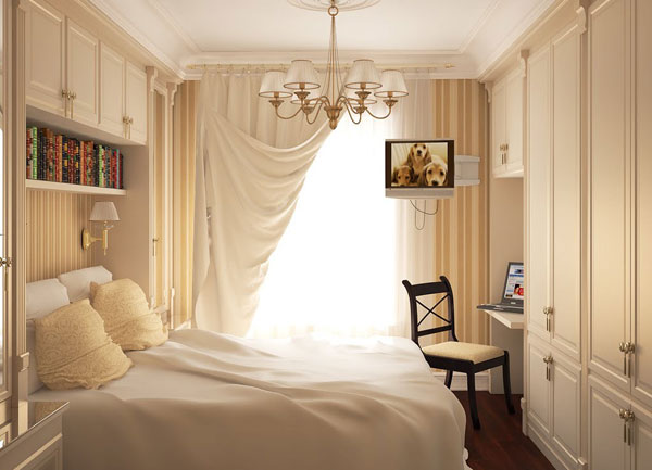 Awesome-Small-Bedrooms-Ideas-for-Women-With-Cream-Cabinet1