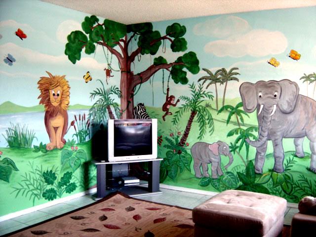 jungleroomopiti Theme for your kids room