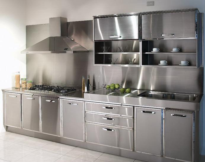 used-stainless-steel-kitchen-cabinets