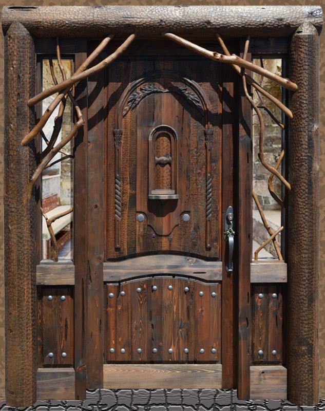 brilliant-log-home-entrance-door-design-of-you-are-here-home-doors-doors-wood-iron-glass-door-secure-castle-door-for-home-design